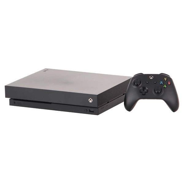 Игровая приставка Microsoft Xbox One X 1TB + Star Wars Jedi: Fallen Order (CYV-00421)