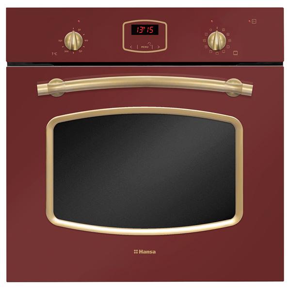Встраиваемый электрический духовой шкаф Hansa BOEC69559 Red