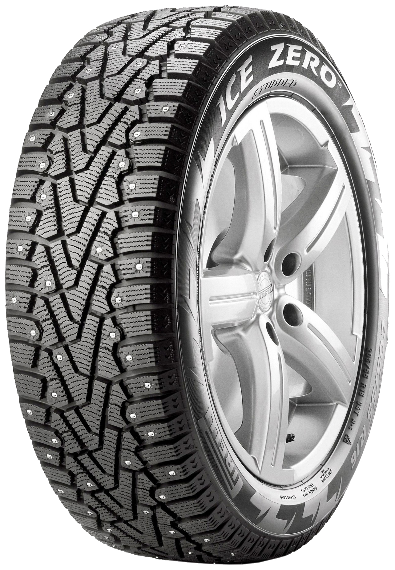 Шины Pirelli Winter Ice Zero 225/60 R18 104T XL шипованная