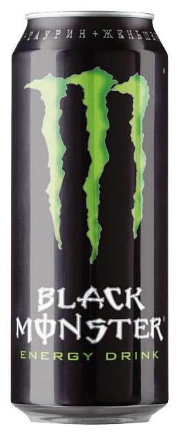 Напиток Black Monster энергетический  0.5 л
