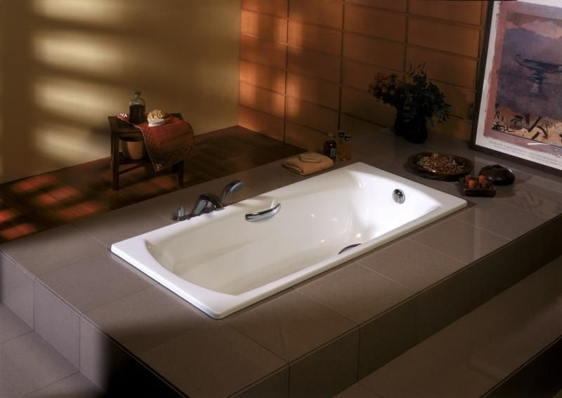Стальная ванна Roca Swing 170х75 без гидромассажа