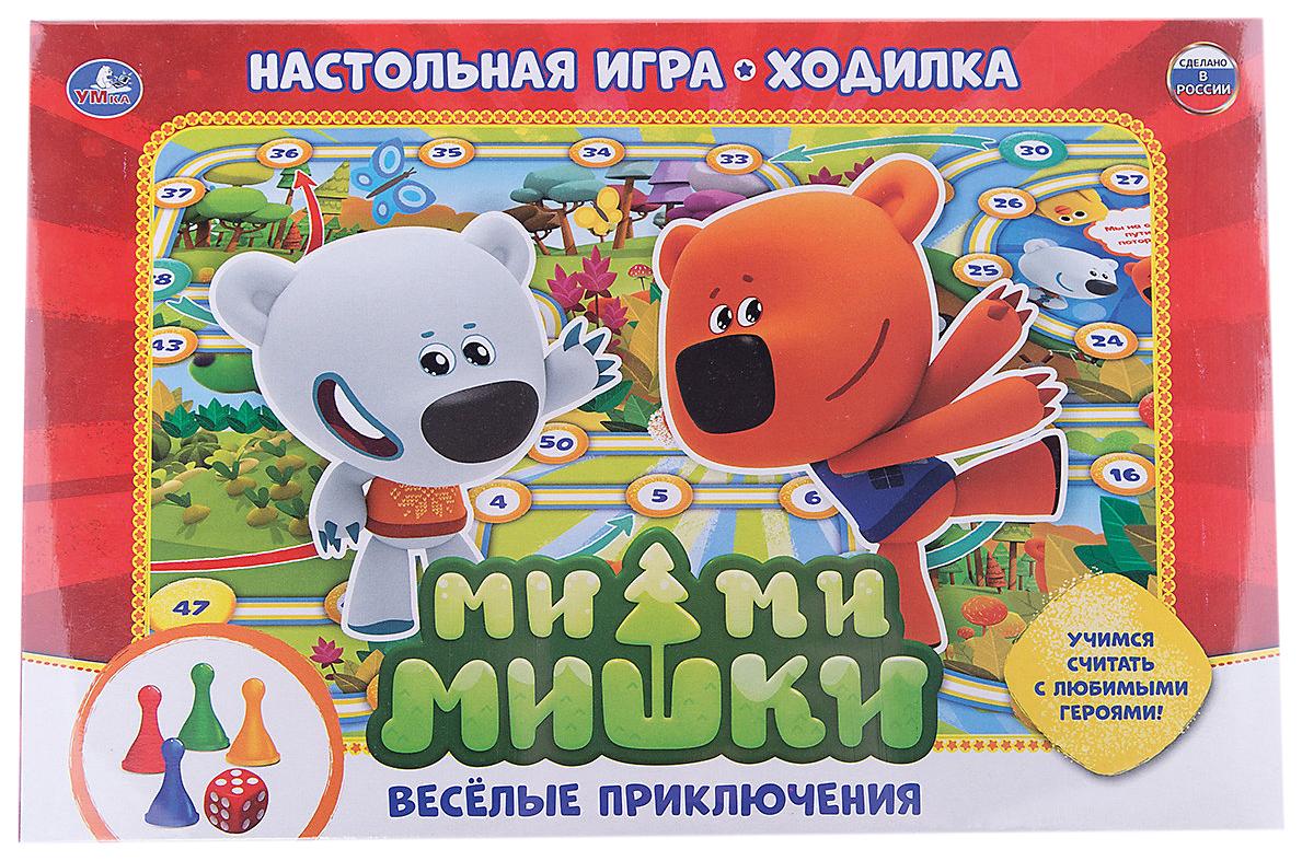 Семейная настольная игра Умка Веселые Приключения Ми-Ми-Мишки