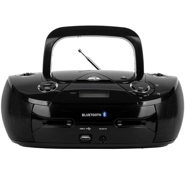 Магнитола BBK BX318BT Черный