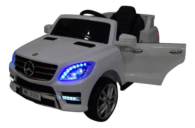 Электромобиль Mercedes-Benz ML350 белый RIVERTOYS