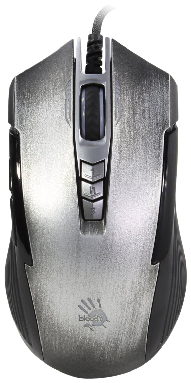 Игровая мышь A4Tech Bloody P93 Bullet Grey Grey/Black
