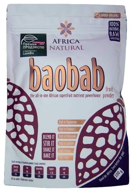 Порошок Africa Natural из плодов баобаба