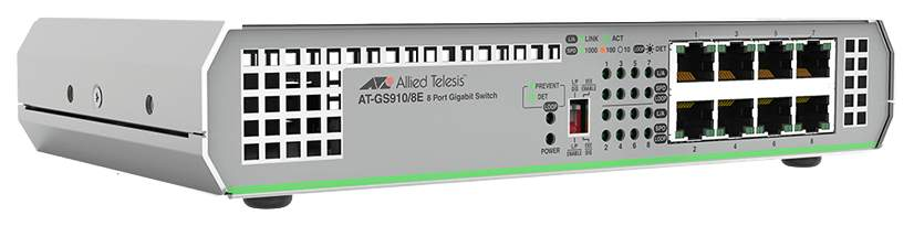 Коммутатор Allied Telesis AT-GS910/8E-50 Серый