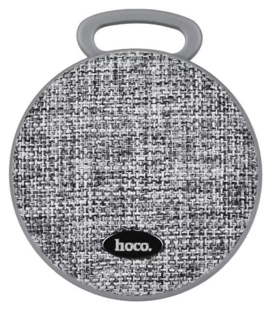 Беспроводная акустика Hoco BS7 Grey/Black