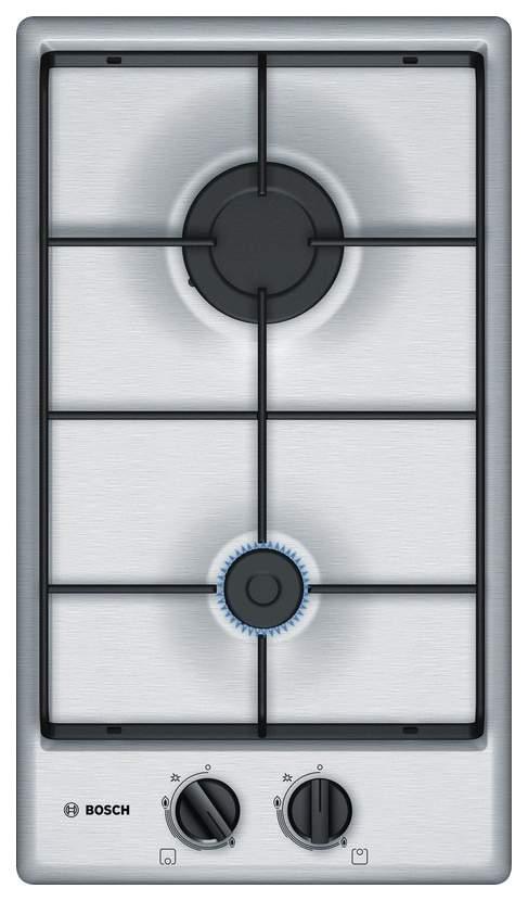 Встраиваемая варочная панель газовая Bosch PGB3B5B80 Silver