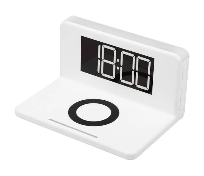 Радио-часы MAX М-010 White