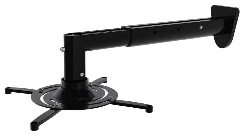 Кронштейн для видеопроектора CACTUS CS-VM-PR05BL-BK