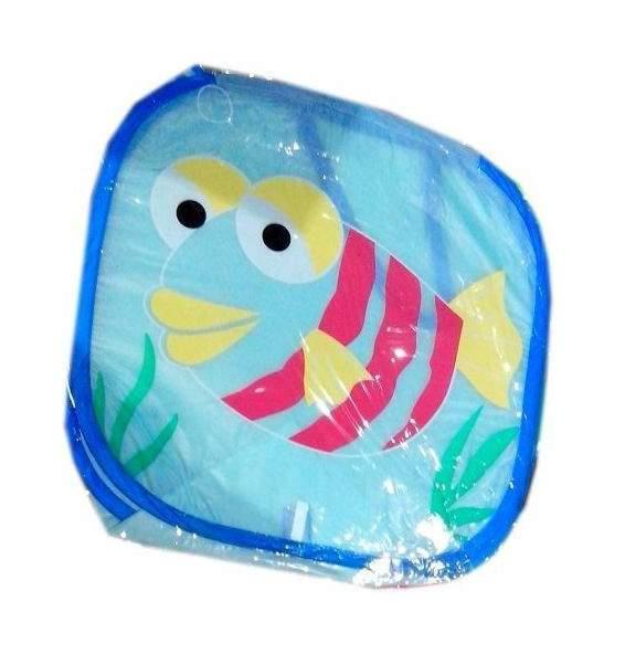 Корзина для хранения игрушек Наша Игрушка Рыбка 43 х 43 см