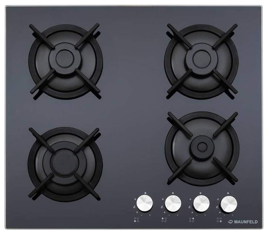 Встраиваемая варочная панель газовая MAUNFELD EGHG.64.1CB/G Black