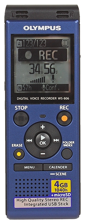 Диктофон цифровой Olympus WS-806 V415151UE020