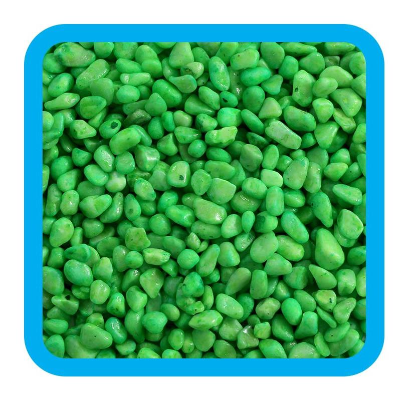 Triol Грунт 20609D Цветной зеленый 5-8 мм, 2 кг