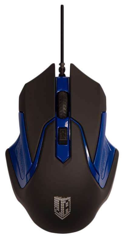 Мышь Jet.A COMFORT OM-U57 Синий; Черная