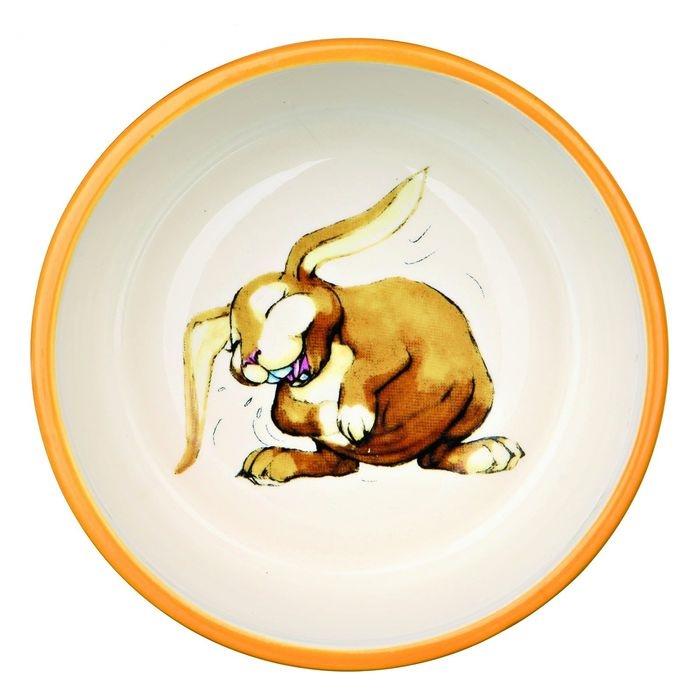Миска для кроликов TRIXIE, керамическая, диаметр 11см, 250мл
