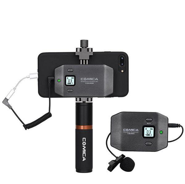 Радиосистема COMICA UHF CVM-WS50B для смартфона
