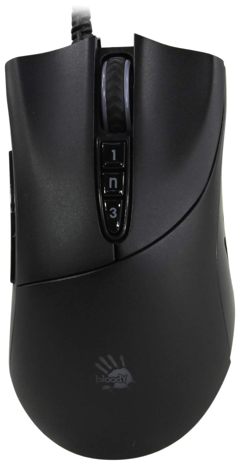 Игровая мышь A4Tech Bloody P30 Pro Black USB Black