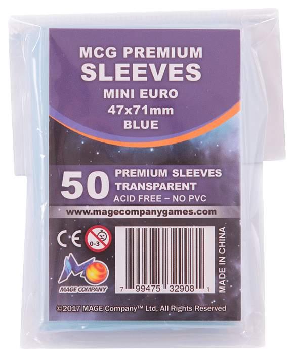 Протекторы для карт Ultimate Guard MCG Premium Mini Euro 47x71мм