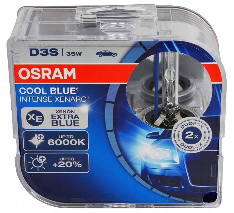 Лампа Ds3 (35w) Xenarc Cool Blue Intense OSRAM арт. 66340CBI-HCB