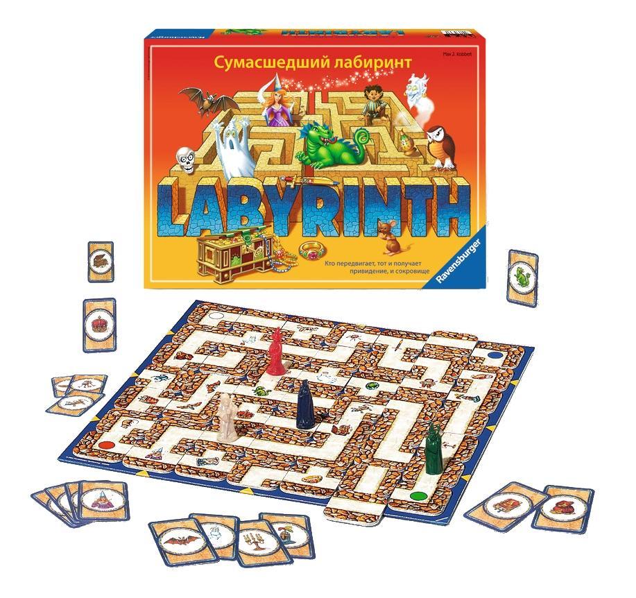 Настольная игра сумасшедший лабиринт 26582