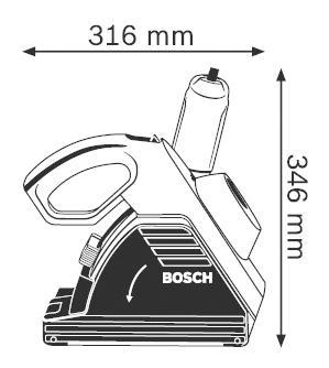 Сетевой штроборез Bosch GNF 35 CA 601621708