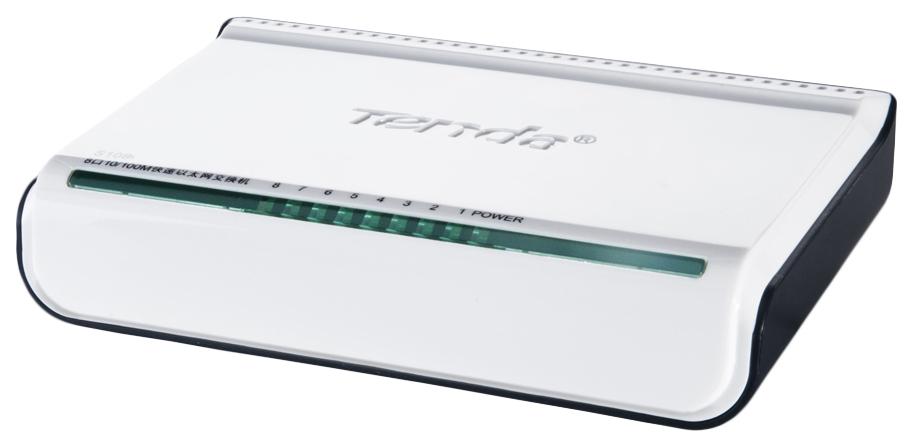 Коммутатор Tenda S108 White