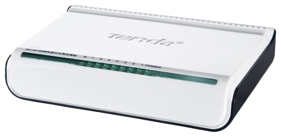Коммутатор Tenda S108 Белый