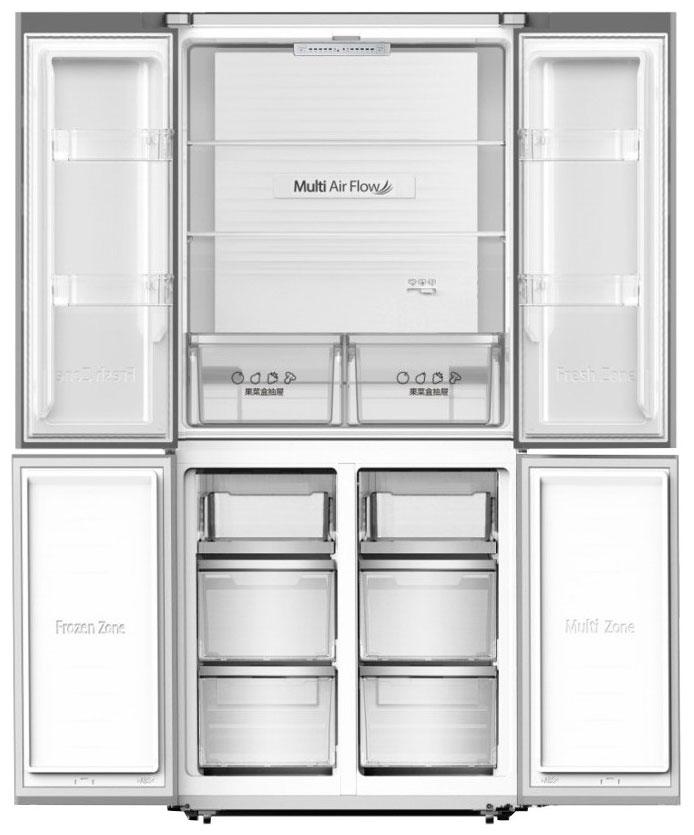 Холодильник Hisense RQ515N4AD1 Silver