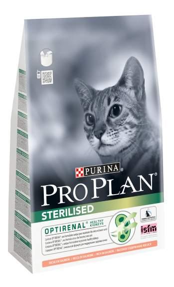 Сухой корм для кошек PRO PLAN Sterilised, для стерилизованных, лосось, 3кг