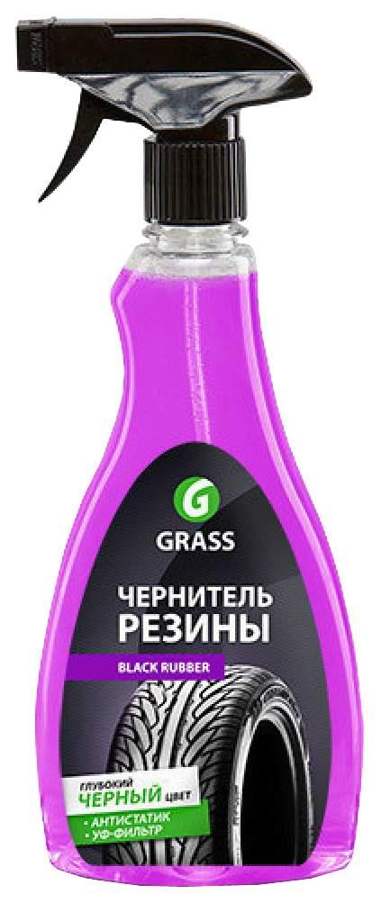 Чернитель шин GRASS Black rubber 0.5л 500г 500г 121105