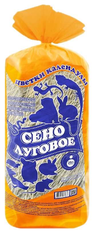 Сено для грызунов Уют Цветки календулы 0.27 кг 1 шт