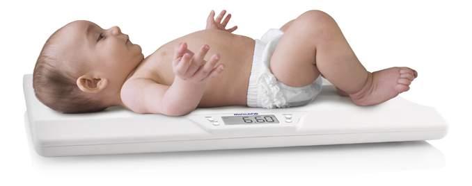 Электронные весы babyscale