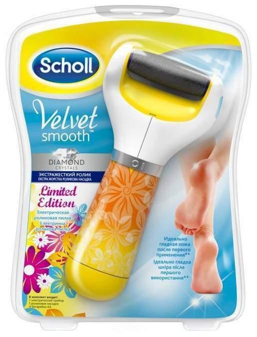 Электрическая роликовая пилка Scholl Velvet Smooth Summer Edition (3027732)