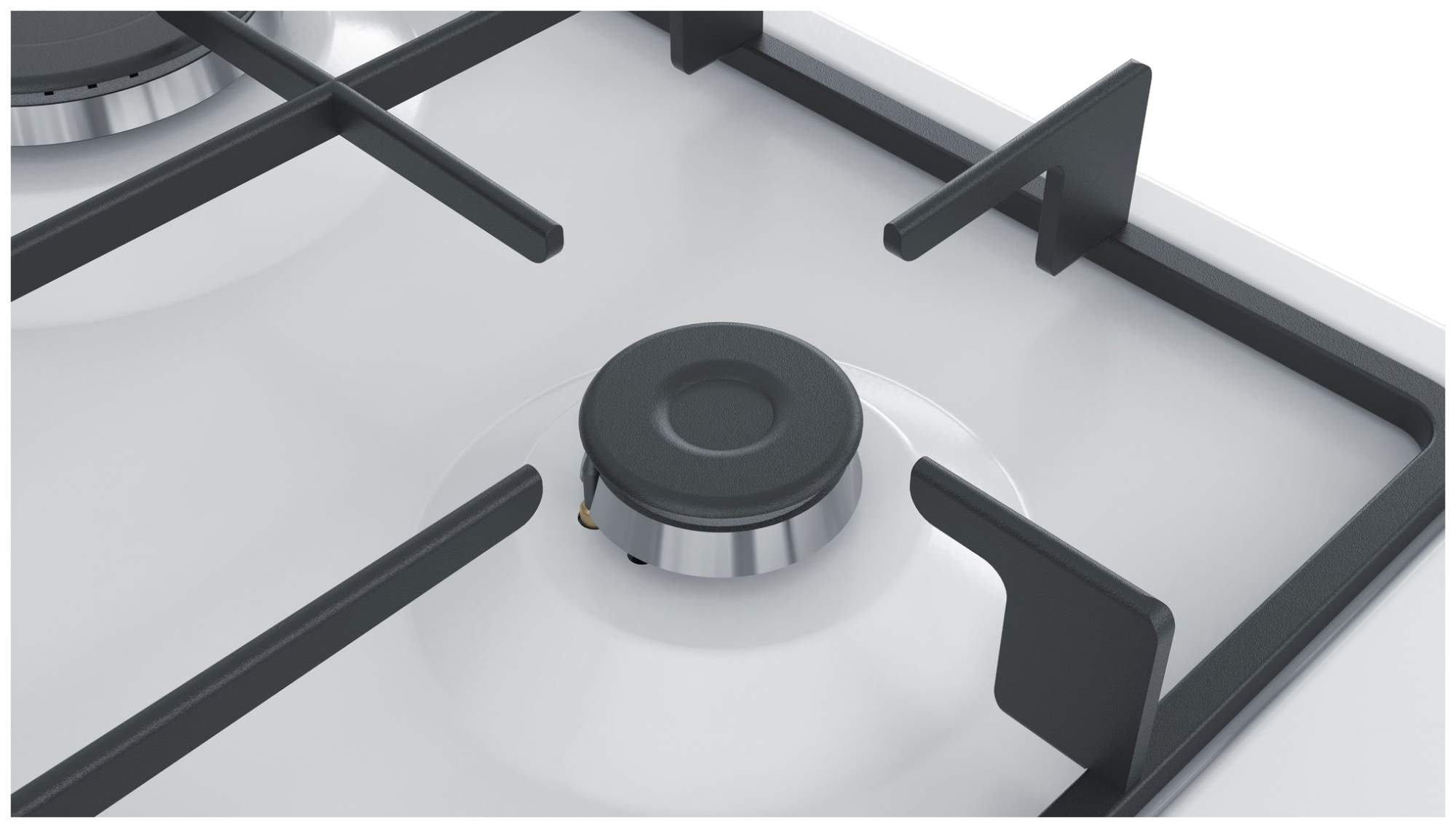 Встраиваемая варочная панель газовая Bosch PGH6B2B90R White