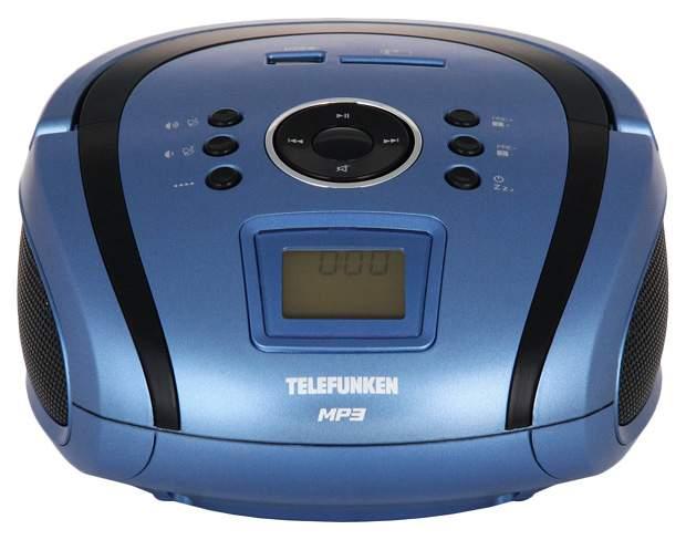 Магнитола TELEFUNKEN TF-SRP3450 Синий черный
