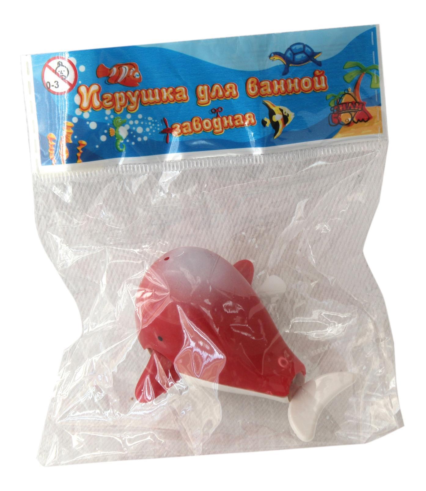 Заводная игрушка для купания тилибом т80512