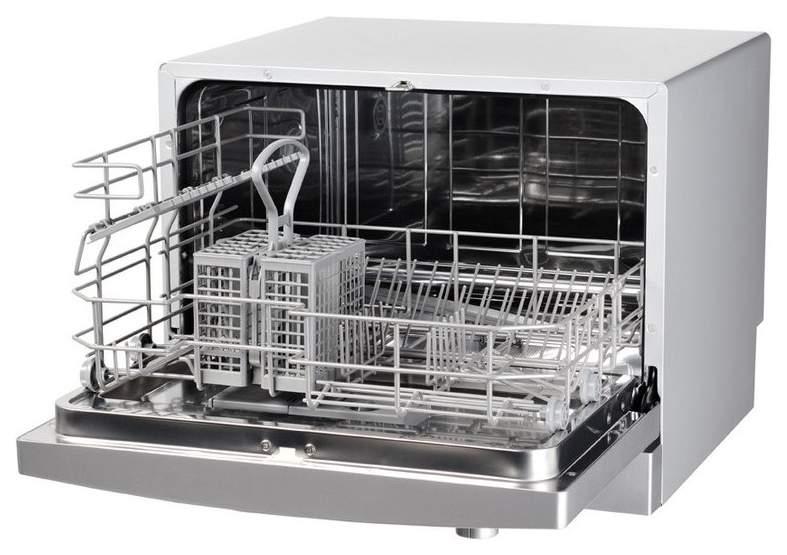 Посудомоечная машина компактная Hotpoint-Ariston HCD 662 S EU silver