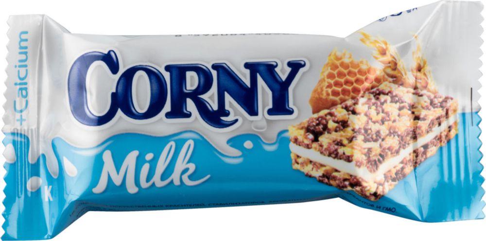 Батончик злаковый Corny milk с молоком и медом 30 г