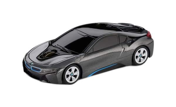 Беспроводная мышь BMW i8 Cyan/Grey