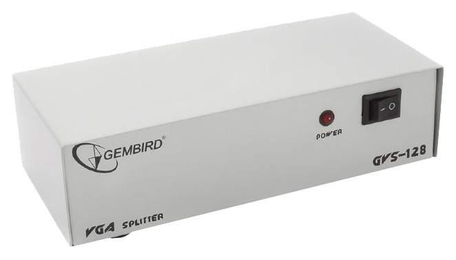 Разветвитель для компьютера Gembird VGA 8 портов GVS128