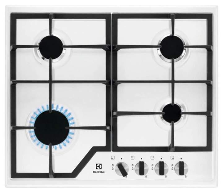 Встраиваемая варочная панель газовая Electrolux GPE 263 MW White