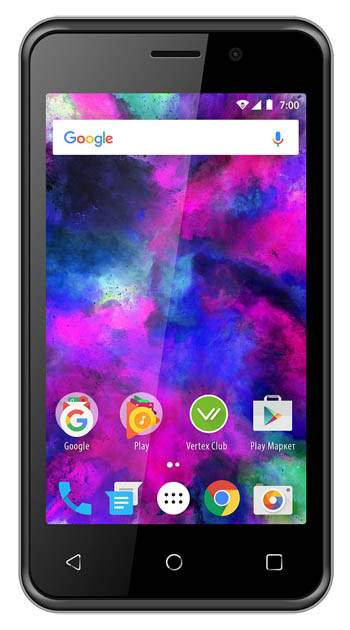 Смартфон Vertex Impress Funk 3G 8Gb Black