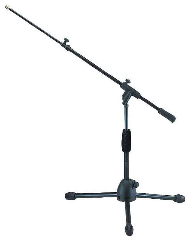 Микрофонная стойка журавль QUIK LOK A341 BK низкая Черный