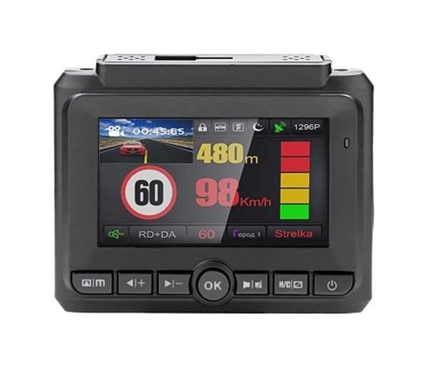 Видеорегистратор PLAYME со встроенным радар-детектором, с GPS информатором