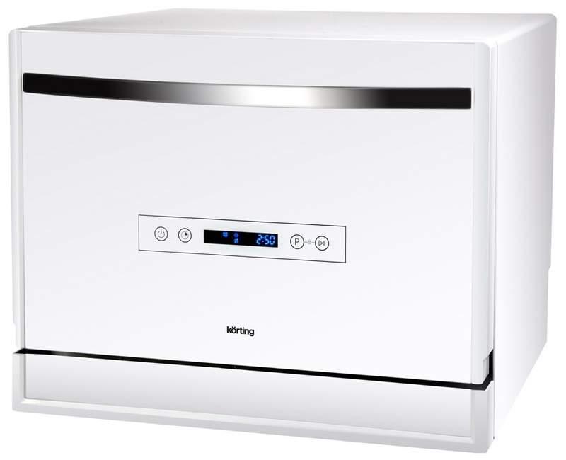 Посудомоечная машина компактная Korting KDF 2095 W white
