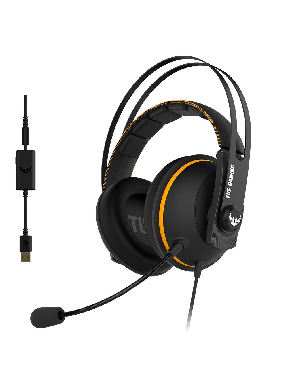Наушники ASUS TUF Gaming H7 Yellow