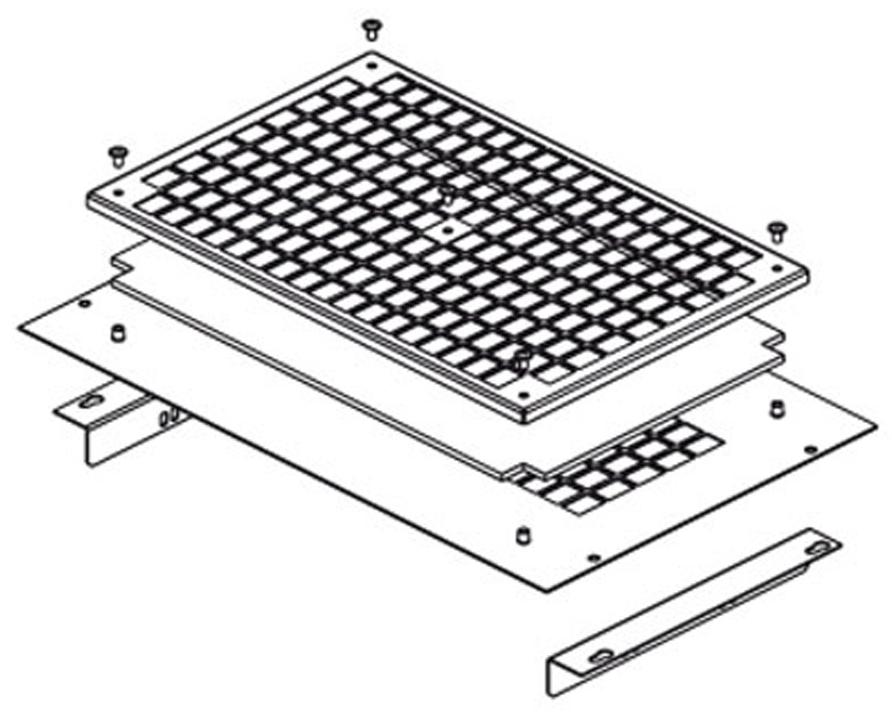 Комплект для монтажа Conteg DP-VER-03F