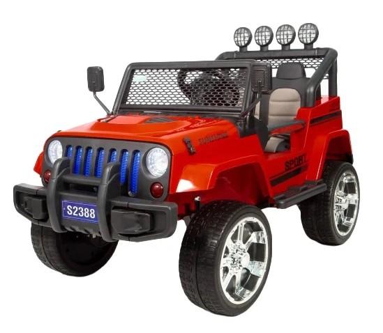 Детский электромобиль Barty Jeep S2388 4WD, Красный
